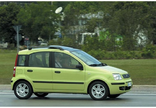 Autókatalógus - FIAT Panda 1.1 Active (5 ajtós, 54 LE) (2003-2010)
